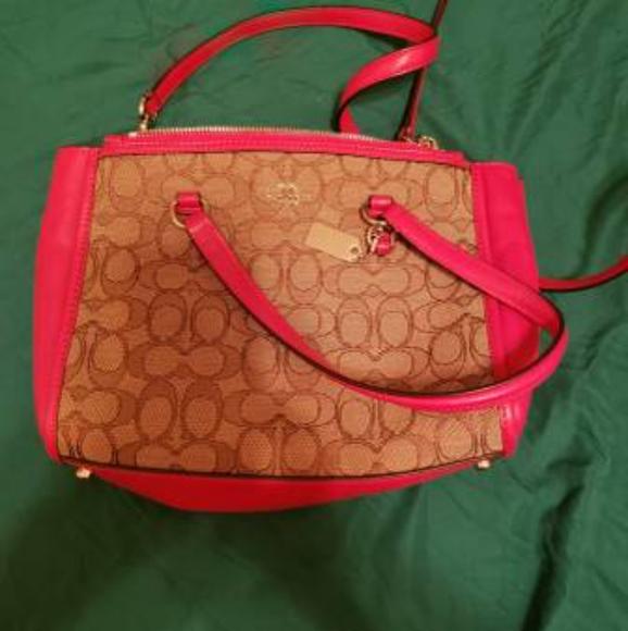 Coach Handbags - Authentic coach **USED ONCE Satchel / crossbody